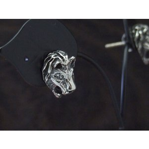 百獣の王ライオンモチーフピアス/シルバーピアス|a-e-shop925