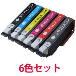 インク EPSON 互換インク YTH 6色セット エプソン 汎用|a-e-shop925
