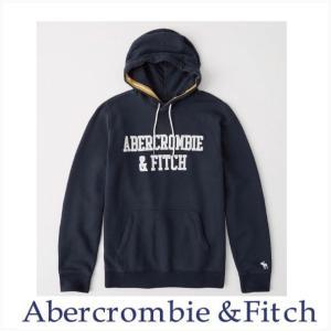 アバクロ メンズ パーカー Abercrombie&Fitch 正規品 ソフトA&F ロゴフーディー|a-freeshop