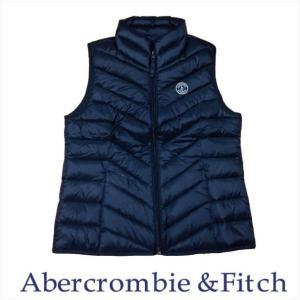 Abercrombie & Fitch アウター ジャケット ベスト メンズ 本物保証 ライトウエイトダウンベスト ブラック|a-freeshop