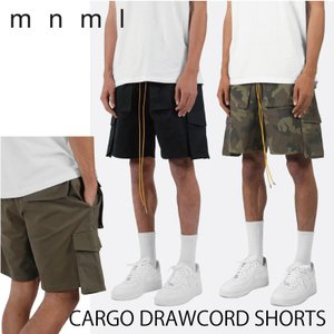 mnml ミニマル メンズ ショートパンツ CARGO DRAWCORD SHORTS カーゴショー...