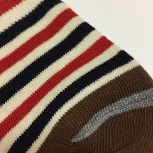 靴下 メンズ ハイソックス  お得な6足組セット ハイソックス ドット ボーダー 柄セット|a-freeshop|06