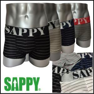ボクサーパンツ  ローライズ メンズ 人気 SAPPY underwear ローライズプリーツ D-512 a-freeshop