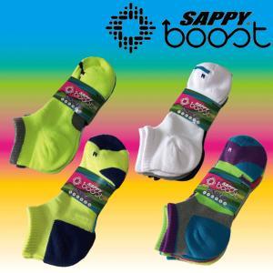 靴下 メンズ ショートソックス  SAPPY boost  アンクル ショート丈 a-freeshop