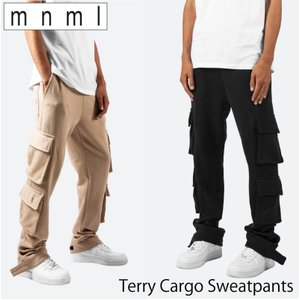 週末セール mnml ミニマル TERRY CARGO SWEATPANTS メンズ レディース 春...