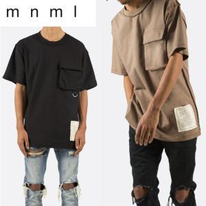 mnml ミニマル トップス メンズ  半袖Tシャツ TACTICAL TEE