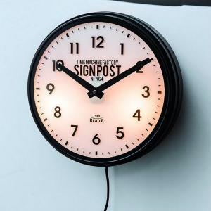 Sevenoaks/セヴノークス時計 壁掛け ライトクロック サインライト アメリカ ビンテージ インダストリアル カフェ 贈り物|a-gleam|02