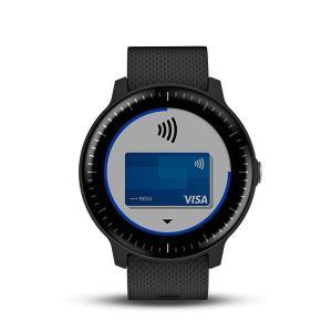 国内正規品 GARMIN ガーミン vivoactive3 Music Black 010-01985-23 光学式心拍計搭載 タッチパネル式 GPSスマートウォッチ ミュージック a-inoko 04
