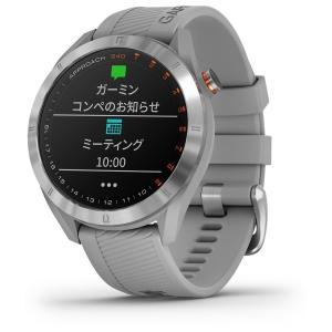 国内正規品 ガーミン アプローチ S40 グレー GPSゴルフナビ GARMIN NEW Approach S40 Gray 010-02140-20 タッチパネル ゴルフナビ ゴルフウォッチ|a-inoko|02