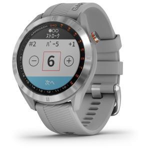国内正規品 ガーミン アプローチ S40 グレー GPSゴルフナビ GARMIN NEW Approach S40 Gray 010-02140-20 タッチパネル ゴルフナビ ゴルフウォッチ|a-inoko|03