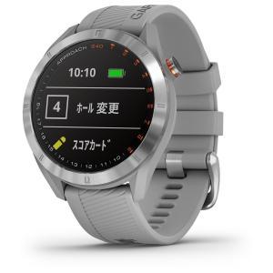 国内正規品 ガーミン アプローチ S40 グレー GPSゴルフナビ GARMIN NEW Approach S40 Gray 010-02140-20 タッチパネル ゴルフナビ ゴルフウォッチ|a-inoko|04