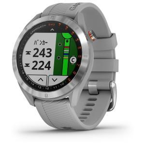 国内正規品 ガーミン アプローチ S40 グレー GPSゴルフナビ GARMIN NEW Approach S40 Gray 010-02140-20 タッチパネル ゴルフナビ ゴルフウォッチ|a-inoko|06