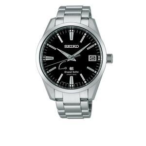 グランドセイコー SBGA101 9Rスプリングドライブ パワーリザーブ 自動巻 日付  腕時計 黒文字版|a-inoko