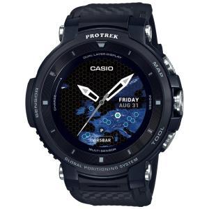 CASIO PRO TREK カシオ スマートウォッチ プロトレック・スマート ブラック WSD-F...