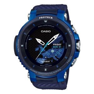 CASIO PRO TREK カシオ スマートウォッチ プロトレック・スマート ブルー WSD-F3...