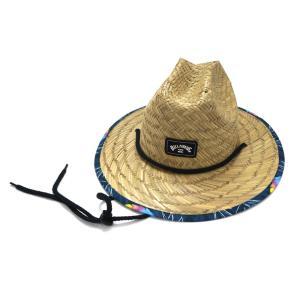 (BILLABONG/ビラボン) BA015-905 キッズ ストローハット NVY 20SS 麦わら帽子 子供用|a-k-k