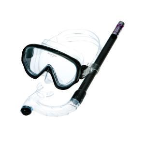 (イカリ)クリアーライトセットF CL-550 スノーケル マスク 2点セット コンパクトサイズ 大人用 レディース 女性 a-k-k