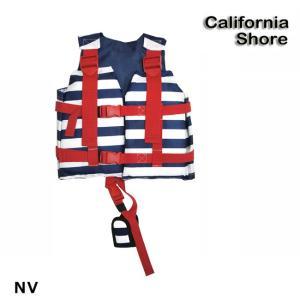 (カリフォルニアショア) キッズフローティングベスト NV 126-485 子供用 ライフジャケット ベスト ベビー キッズ CS126485|a-k-k
