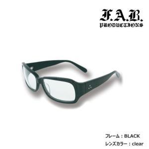 (ファブ)FUNKY FAB サングラス クリアレンズ UVカット ファッション スポーツサングラス 全7色|a-k-k