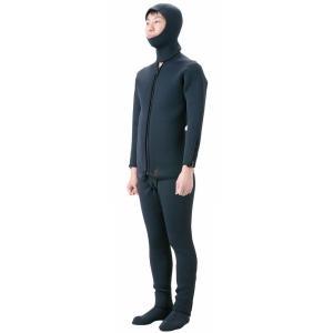 (プロマリン) ウェットスーツ4点セット WPM015 ウェア ウエットスーツセット ネオプレーン|a-k-k