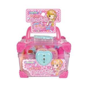 (イケダ) キラキラおしゃれボックス 490230 003688 ごっこあそび オシャレ メイク セット 子供 女の子 室内遊び おもちゃ|a-k-k