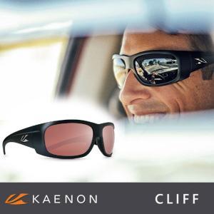 (ケーノン) CLIFF クリフ KAENON-CLIFF 大人用 偏光レンズ 偏光サングラス スポーツサングラス|a-k-k