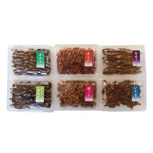 【産地直送】湖魚 6パック詰め合わせ 甘露煮 佃煮 鮎 あゆ 滋賀県特産品 送料無料|a-k-k