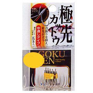 【MARUFUJI/まるふじ】 Z-068 極先カットウベーシック(伊勢尼型) 針 はり 仕掛 パーツ