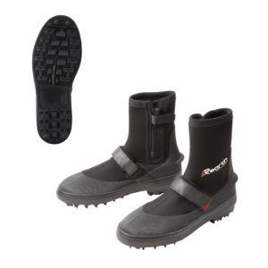 (リアス) リーフブーツ(スパイクピン仕様) RED FFW-5100 ブーツ シューズ 靴 a-k-k