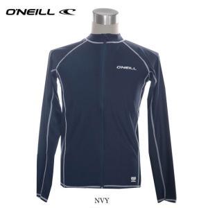 30%OFF!(オニール) メンズフルジップラッシュガード 長袖 626-494 大人用 ジップラッシュ スイムウェア 水着 UVカット 626494|a-k-k