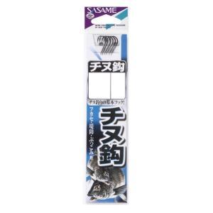 【SASAME/ササメ】チヌ鈎黒糸付 AA302 鈎 フック 糸付き チヌ釣り フカセ 堤防釣り|a-k-k