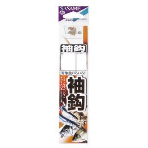 【SASAME/ササメ】袖鈎金糸付 AA401 鈎 フック 糸付き アジ釣り メバル釣り サヨリ|a-k-k