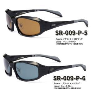【STORMRIDER/ストームライダー】SR-009-P スポーツカーブタイプII ブラックエディション ハイカーブ仕様 偏光サングラス 偏光レンズ サングラス|a-k-k