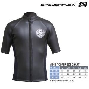(スパイダーフレックス) クラシックスキンタッパー(半袖) ブラック STP-37310 スキンタイプ メンズ 大人用 2017SS|a-k-k