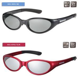 【SWANS/スワンズ】KG-1 偏光レンズ ミラーレンズ サングラス スポーツサングラス 子供用サングラス キッズグラス 偏光サングラス|a-k-k