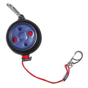 【TAKA/タカ産業】リールロープ 3mm×7m ロープ-S 300446 ロープ カラビナ付き 釣小物|a-k-k