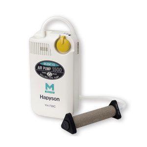 【HAPYSON/ハピソン】乾電池式エアーポンプ(マーカー機能付) YH-739C 静音設計 エアーぽんぷ