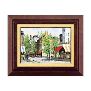 黒沢 久 『パリの街角 』 絵画 油絵 F4号|a-kakejikujp