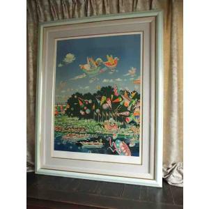 絵画 ヒロ、ヤマガタ/ベリースペシャル、セレブレーション 版画 シルクスクリーン  全国送料無料|a-kakejikujp