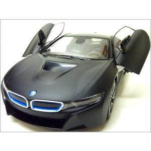 RASTAR◇BMW i8市販モデル◇正規認証車1/14ラジコンカー/ブラック|a-kind