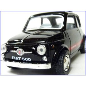 Kinsmart/キンスマート◇FIAT500/フィアット500◇1/24ダイキャストモデルミニカー...