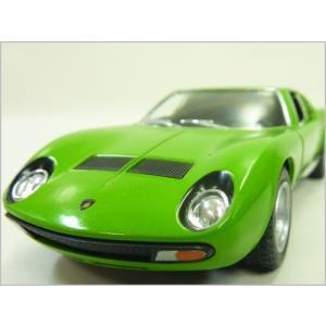 Kinsmart/キンスマート◇1971ランボルギーニミウラP400SV◇1/34ダイキャストモデルミニカー(プルバックカー)/グリーン|a-kind