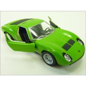 Kinsmart/キンスマート◇1971ランボルギーニミウラP400SV◇1/34ダイキャストモデルミニカー(プルバックカー)/グリーン|a-kind|02
