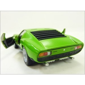 Kinsmart/キンスマート◇1971ランボルギーニミウラP400SV◇1/34ダイキャストモデルミニカー(プルバックカー)/グリーン|a-kind|03