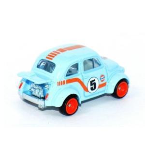 ホットウィール カーカルチャー/HotWheels Car Culture ◇フィアット500Dガルフレーシング/Gulf Racing Fiat500D 60's MODIFICADO a-kind 03