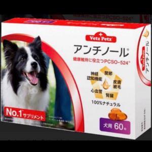 アンチノール (犬用60粒)の画像