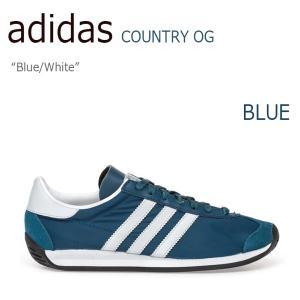 アディダス カントリーOG スニーカー メンズ レディース  adidas COUNTRY OG CNTRY Blue White ブルー ホワイト S79103 シューズ...
