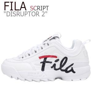 フィラ ディスラプター2 スニーカー FILA メンズ レディース DISRUPTOR 2 SCRI...