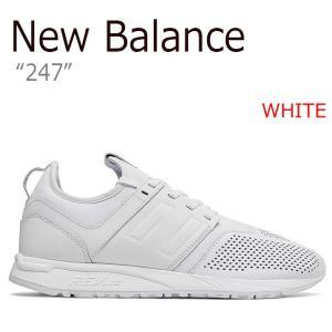2ee3f8bac506c ニューバランス スニーカー NEW BALANCE 247 メンズ レディース WHITE ホワイト MRL247LW シューズ