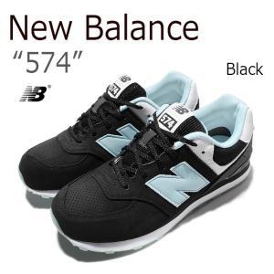 New Balance 574/Black ニューバランス  ブラック  KL574BXG